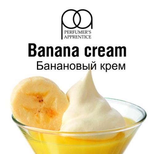 Ароматизатор TPA Banana cream - Банановый крем