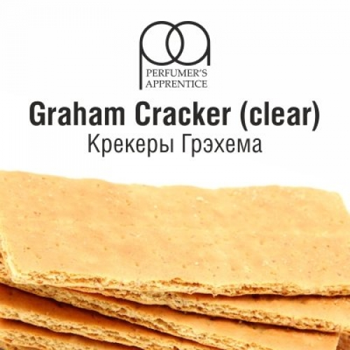 Ароматизатор TPA Graham Cracker Clear - Крекеры Грэхема