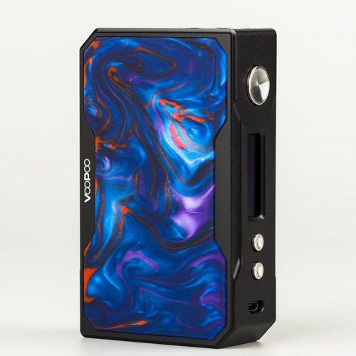Voopoo Black Drag Resin 157W TC Box Mod - лазурный