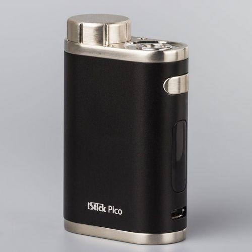 Eleaf iStick Pico 75W TC (body) - стальной/чёрный