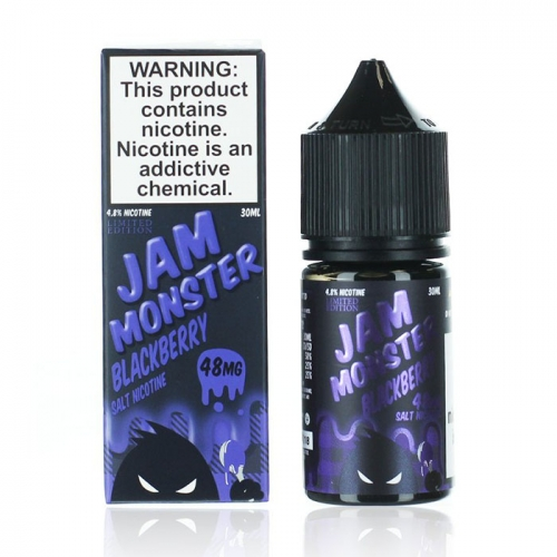 JAM MONSTER SALT -  BLACKBERRY - 48 мг