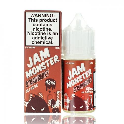 JAM MONSTER SALT - STRAWBERRY - 48 мг
